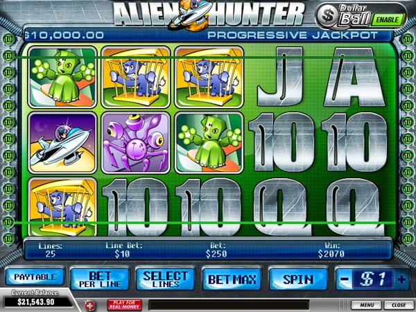 Alien Hunter demo