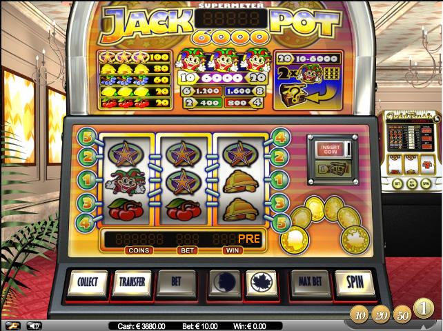 Jackpot 6000 demo