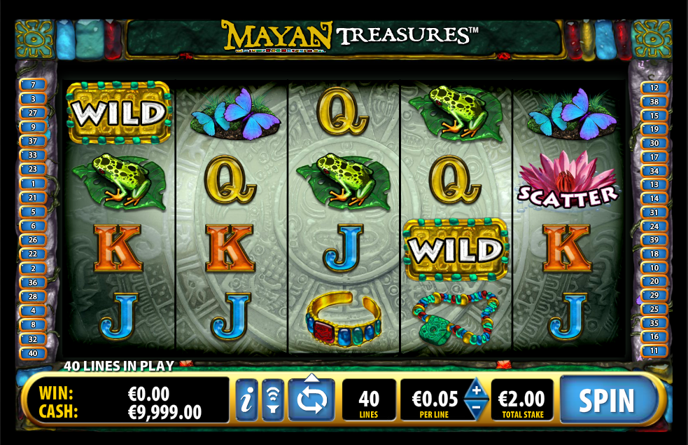 Mayan Treasures demo