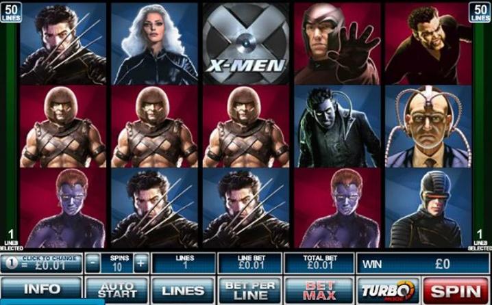 X Men 50 Lines demo
