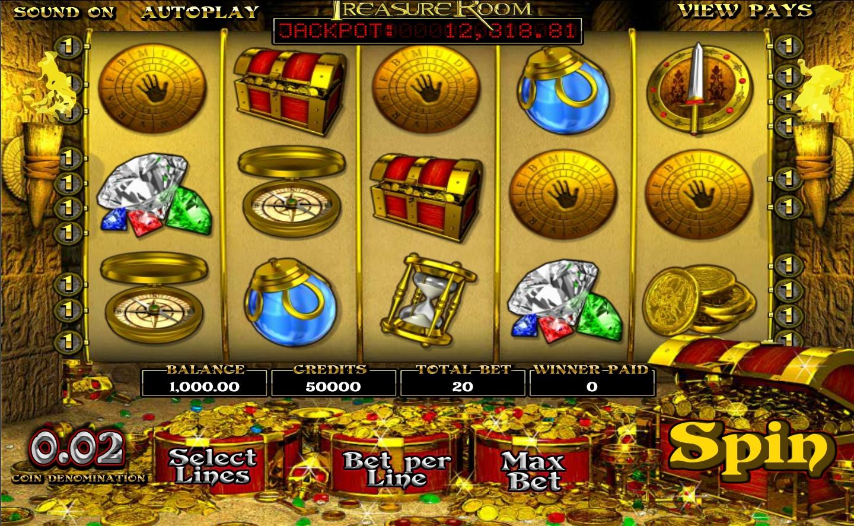 Treasure Room demo