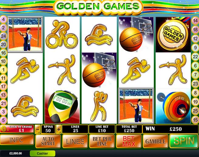 Golden Games demo