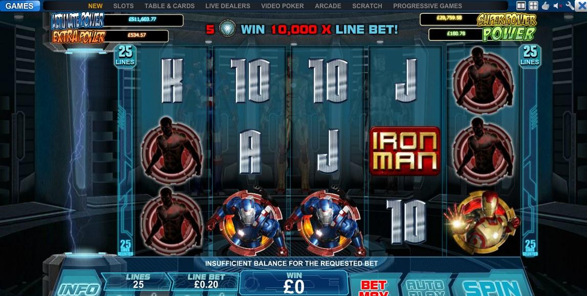 Iron Man 3 demo