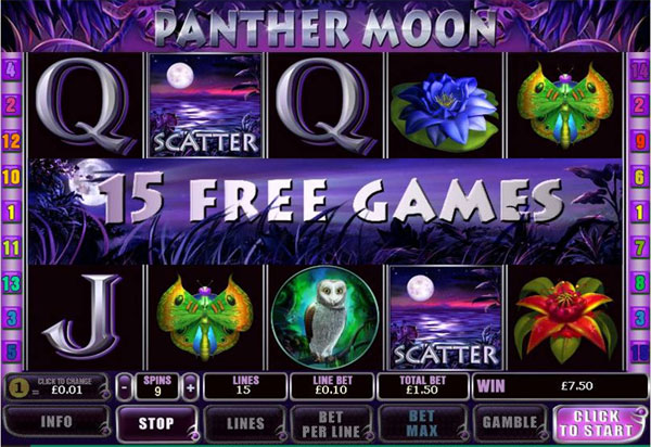 Panther Moon demo