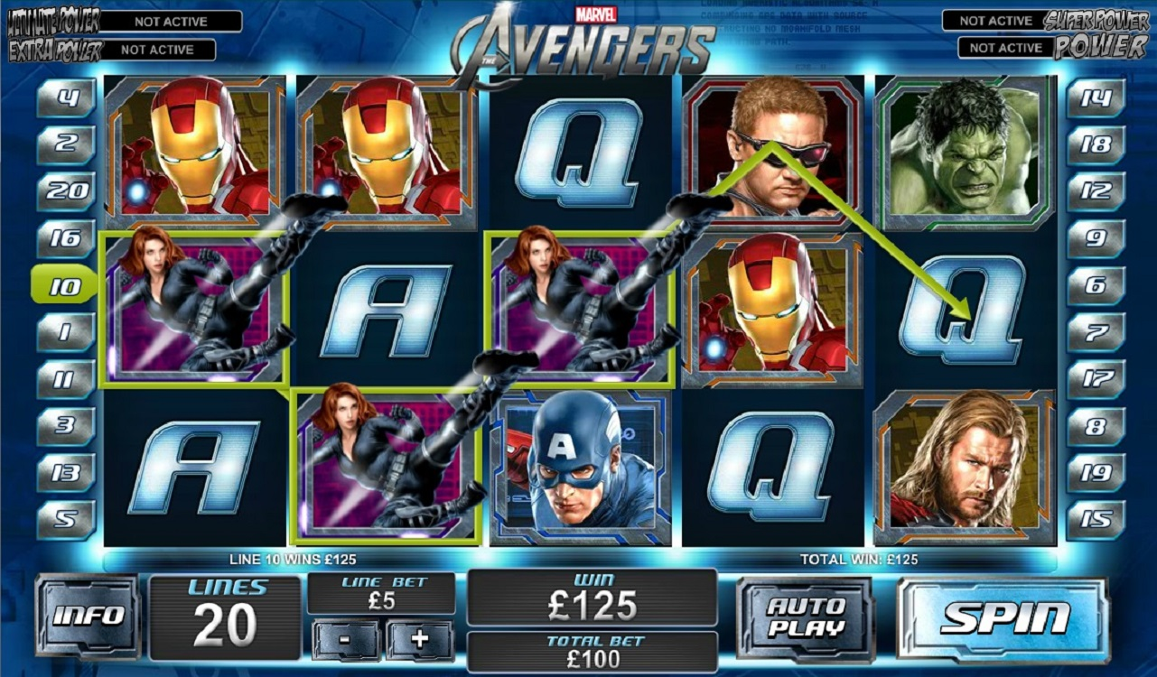 The Avengers demo
