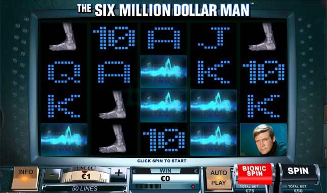 The Six Million Dollar Man demo