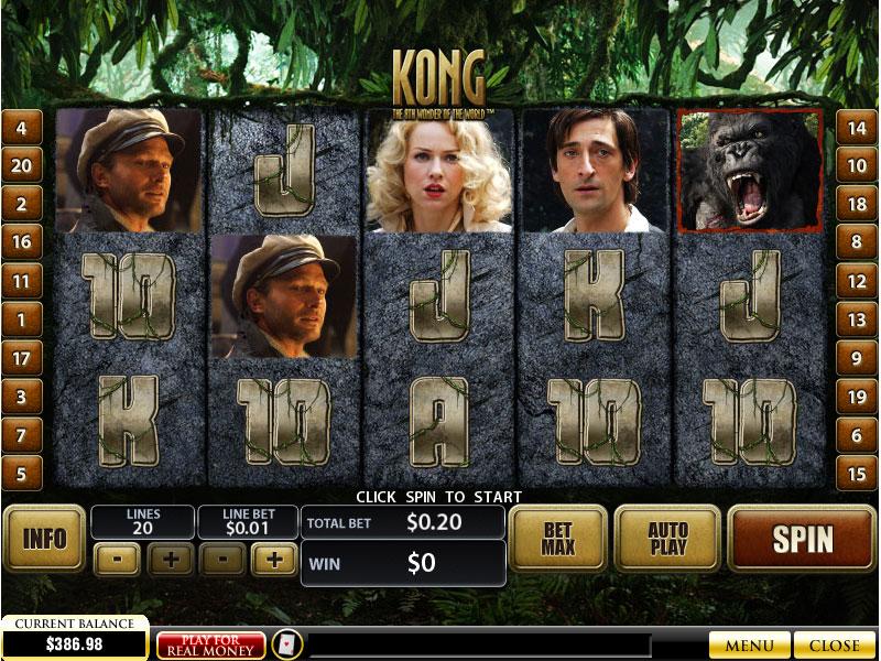 Kong demo
