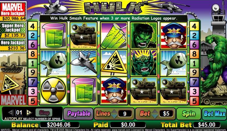 Free Slots Hulk