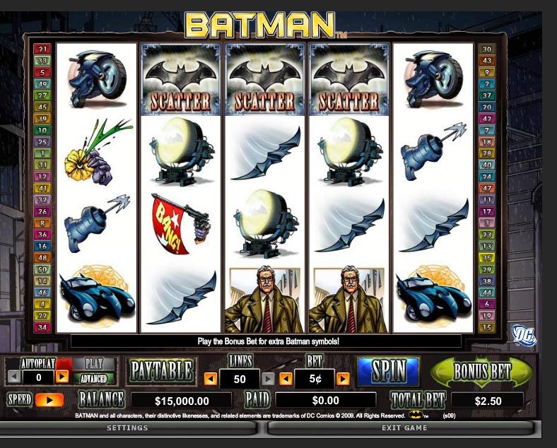 Batman demo