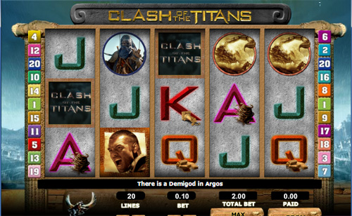Clash of the Titans demo