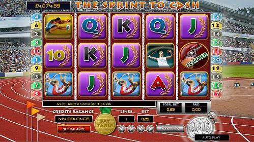 The Sprint To Cash demo