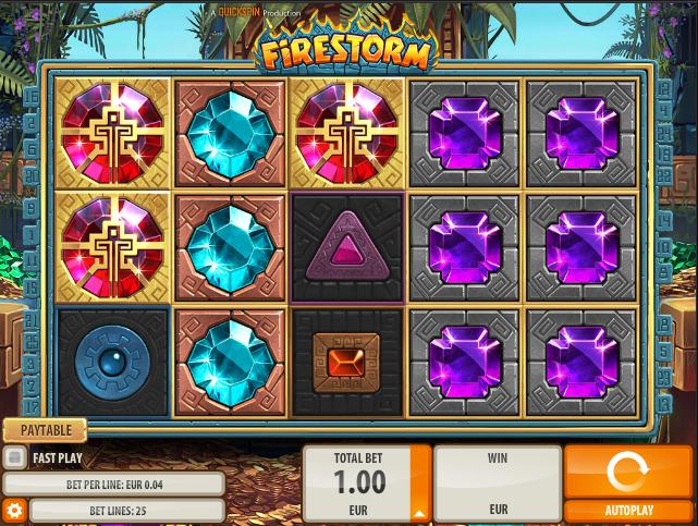 Firestorm demo