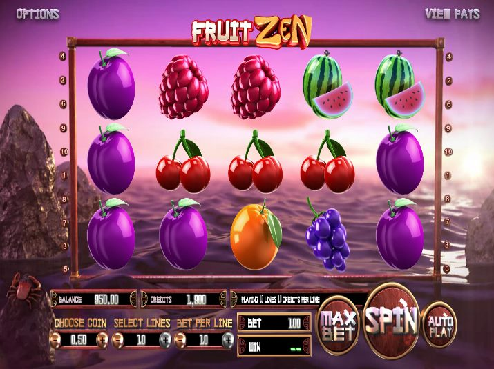 Fruit Zen demo