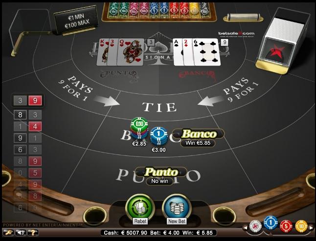 Punto Banco Slot