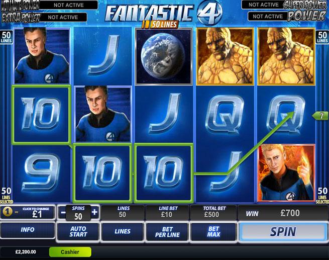 Fantastic Four 50 Lines demo