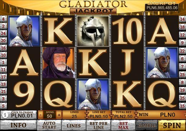 Gladiator Jackpot demo