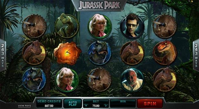 Jurassic Park demo
