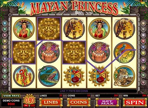 Mayan Princess demo