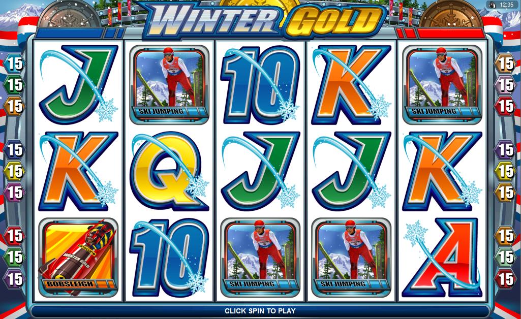 Winter Gold demo