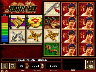 Bruce Lee demo