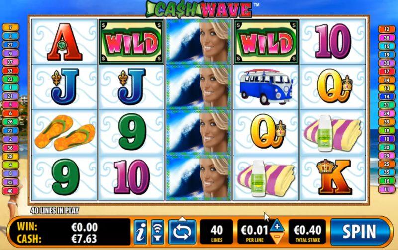Cash Wave demo