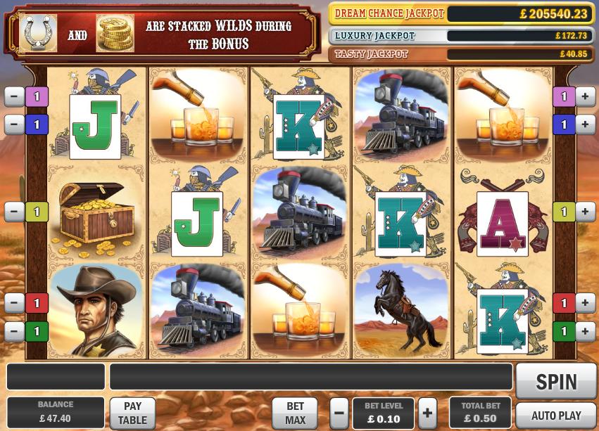Cowboy Treasure demo
