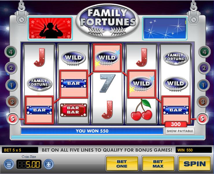 Family Fortunes Slot