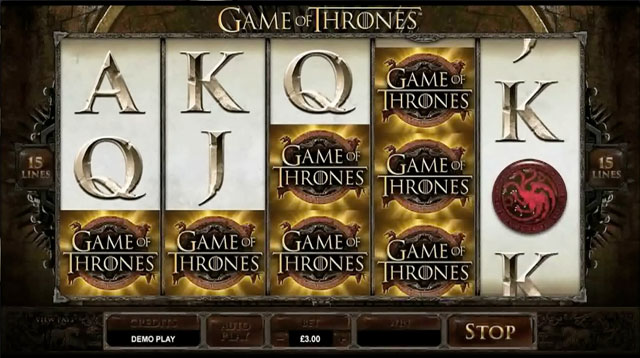 Game Of Thrones demo