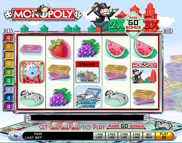 Monopoly Pass Go demo