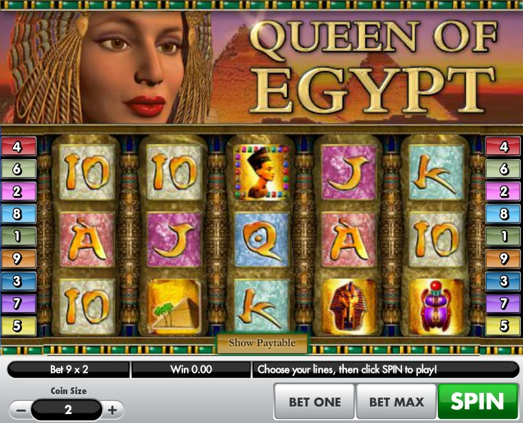 Queen of Egypt Slot