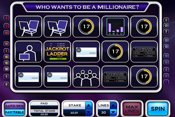 Who Wants To Be A Millionaire demo