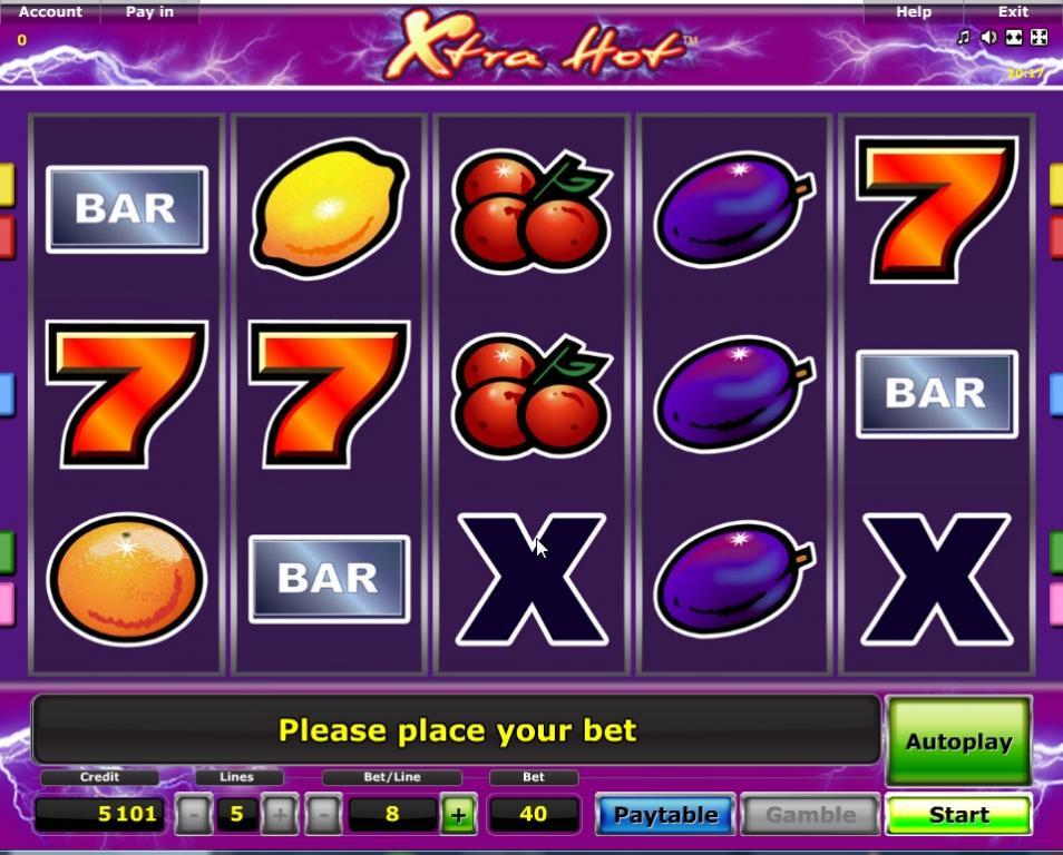 Free Slots Xtra Hot