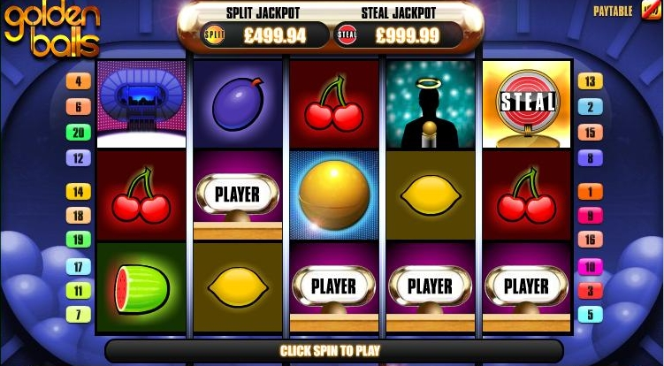 Golden Balls Steal The Jackpot demo