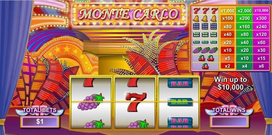 Monte Carlo demo