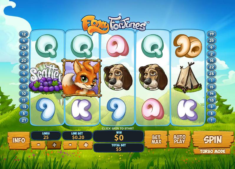 Foxy Fortunes demo