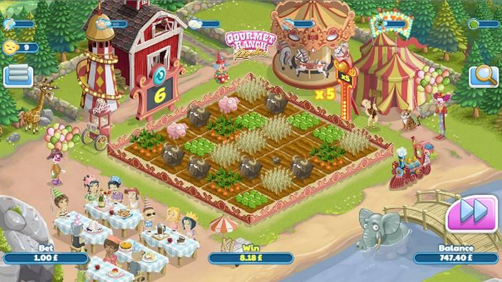 Gourmet Ranch Riches demo