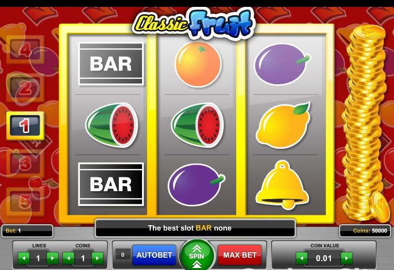 Classic Fruit demo