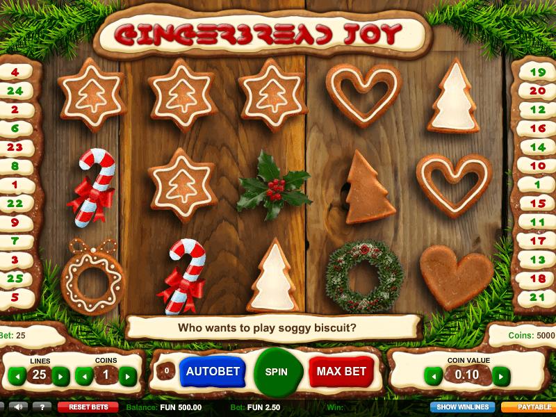 Gingerbread Joy demo