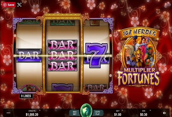 108 Heroes: Multiplayer Fortunes  slot