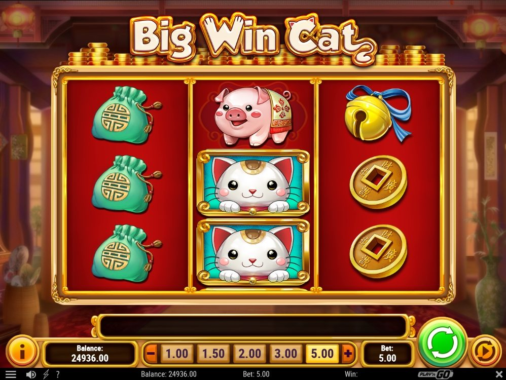 Big Win Cat demo