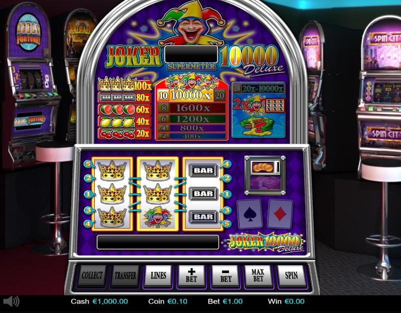 Joker 10000 Deluxe demo