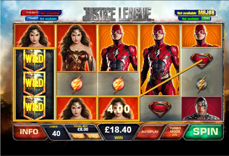Justice League demo