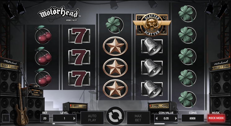 Play Motorhead Slot With No Download Required