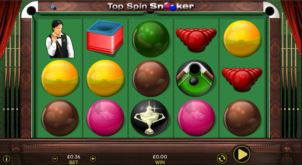 Top Spin Snooker demo