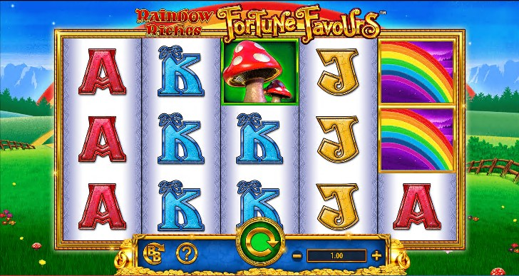 Rainbow Riches Fortune Favours demo