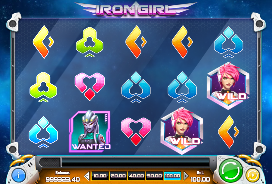 Iron Girl demo