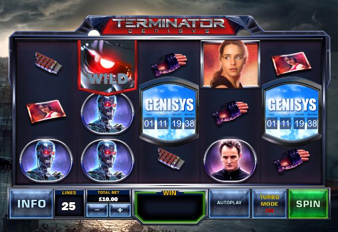 Terminator Ganisys demo