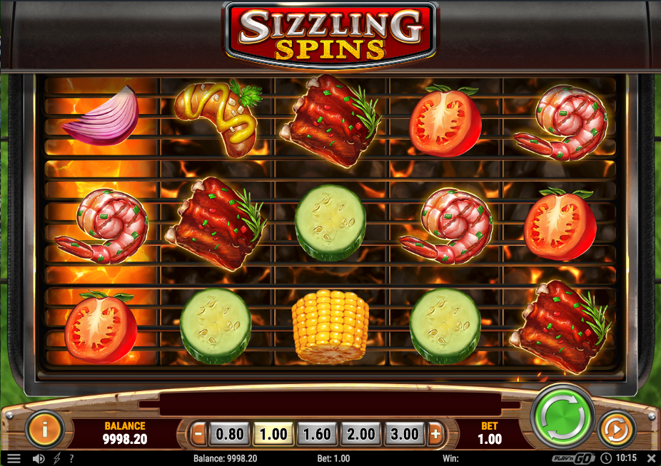 Sizzling Spins demo
