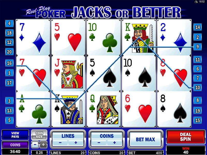 Jacks Or Better demo