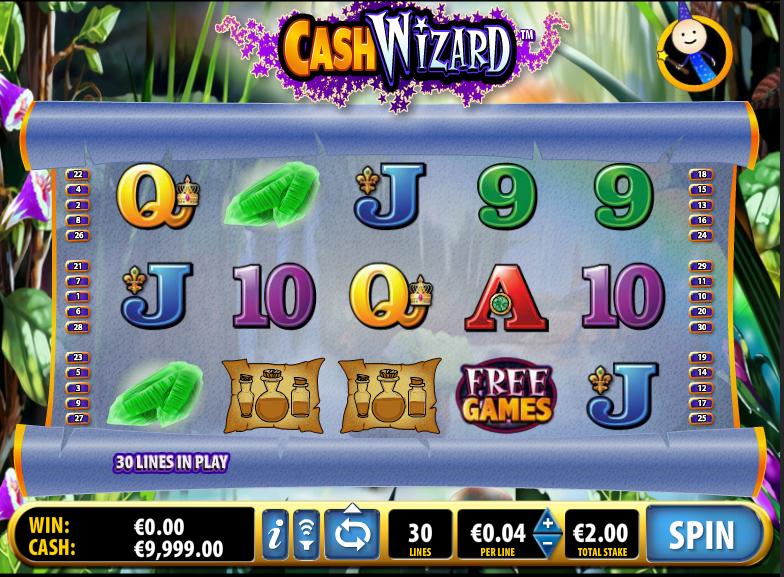 Cash Wizard demo